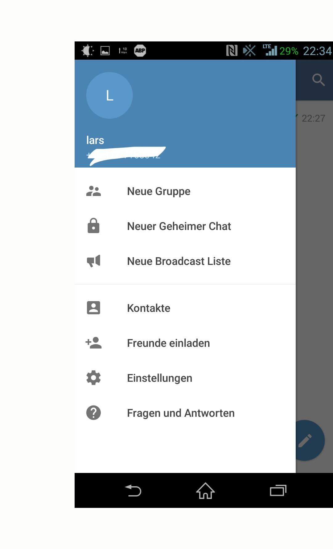 telegram anstatt whatsapp – smartdroidblog.de, Einladung