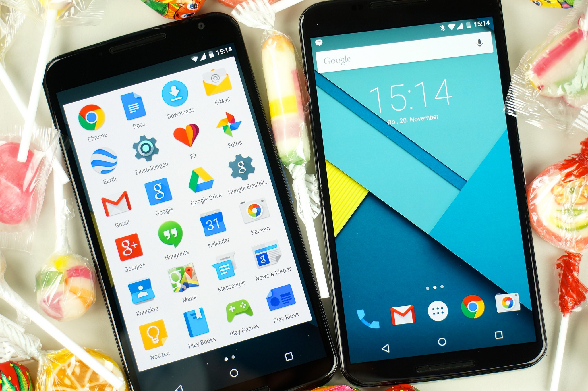 Android 5.0 - Übersicht der Smartphones - smartdroidblog.de